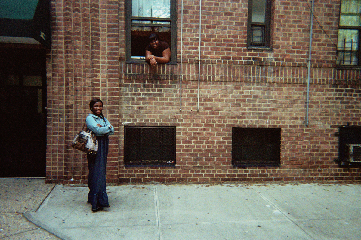 My neighbours photographed by Jane Mary Saiter, Fort Independence Houses, Bronx