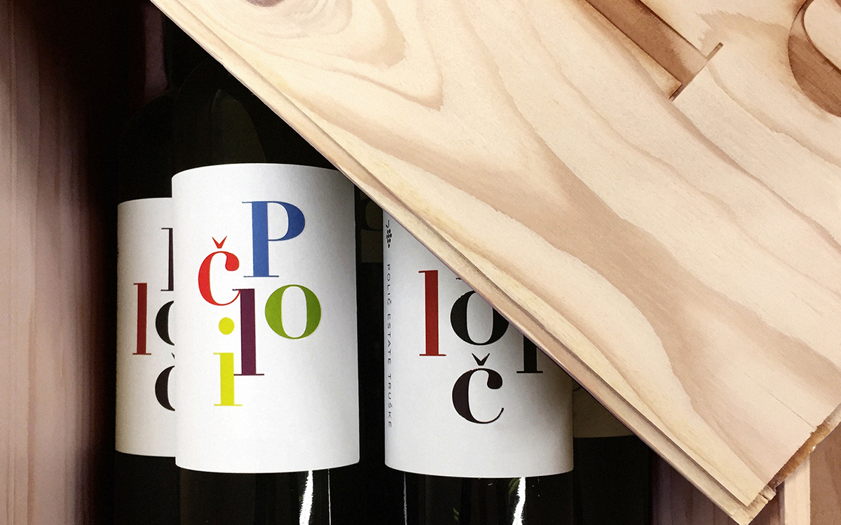 Work for the Poetry Society and wine brand Polîc by Red&White