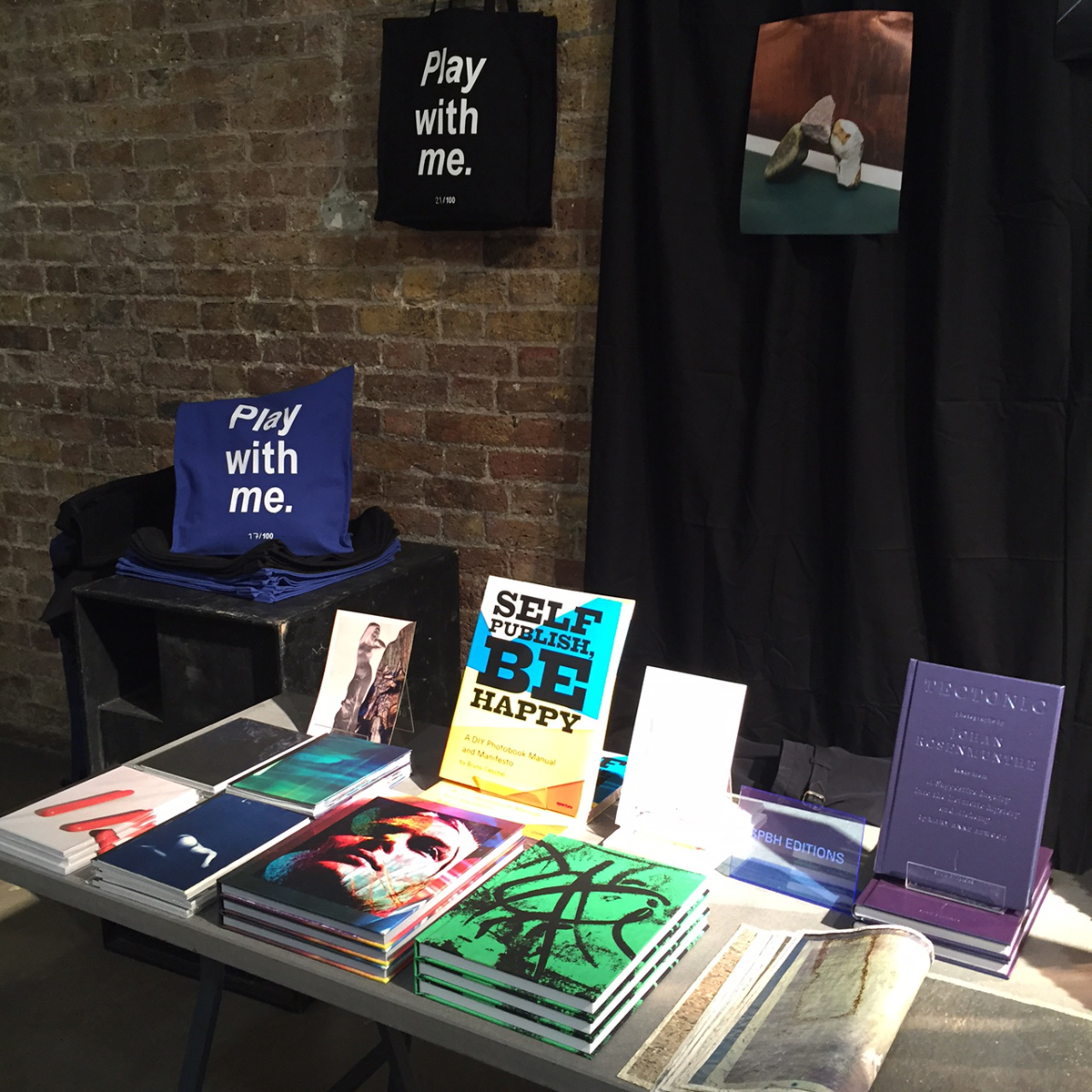 SPBH Editions stand