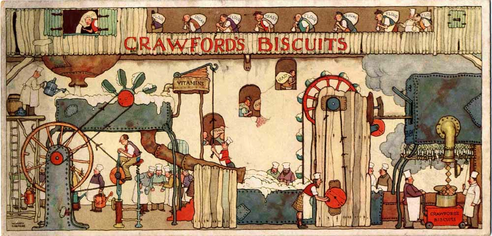 Heath Robinson's advertising celebrated in an exhibition at McCann London