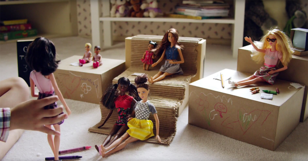 Can Barbie become a good role model for girls?