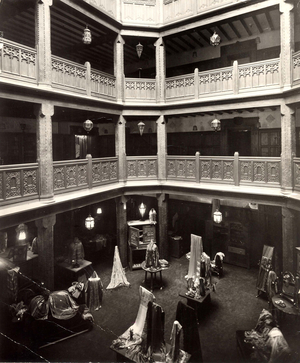 Liberty store central atrium, 1930s, © Liberty London
