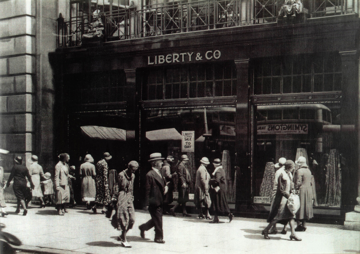 Exterior of Liberty & Co, Regent Street, London, c. early 20th century, © Liberty London