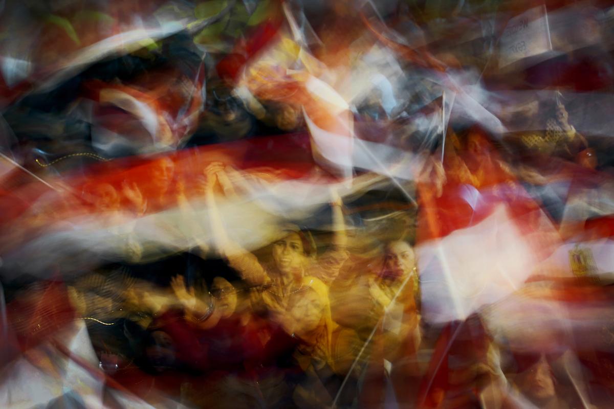 Women of Tahrir, 2013, by Laura El-Tantawy