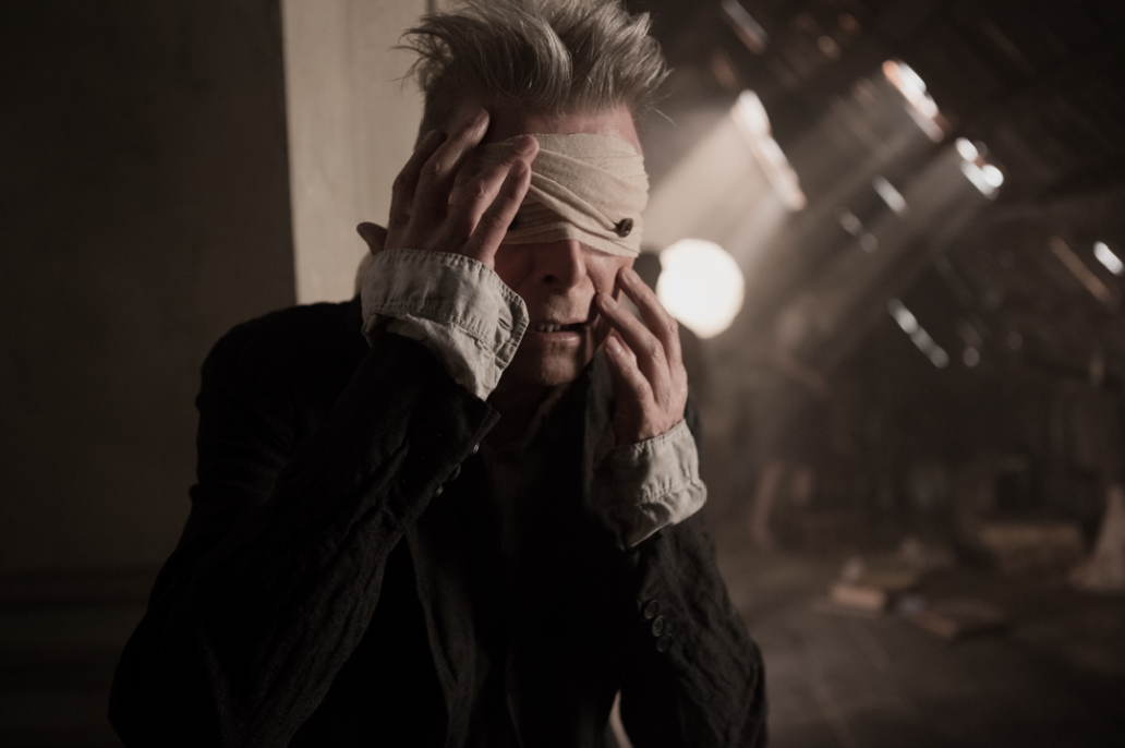Still from David Bowie's Blackstar film, directed by Johan Renck, and which accompanies the release of the first single from his forthcoming album