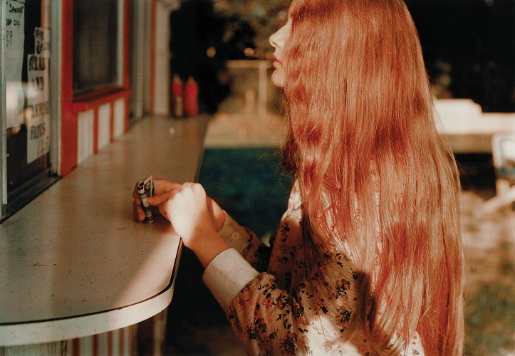 Untitled, 1970–4 (Dennis Hopper) by William Eggleston, 1970–74 © Eggleston Artistic Trust