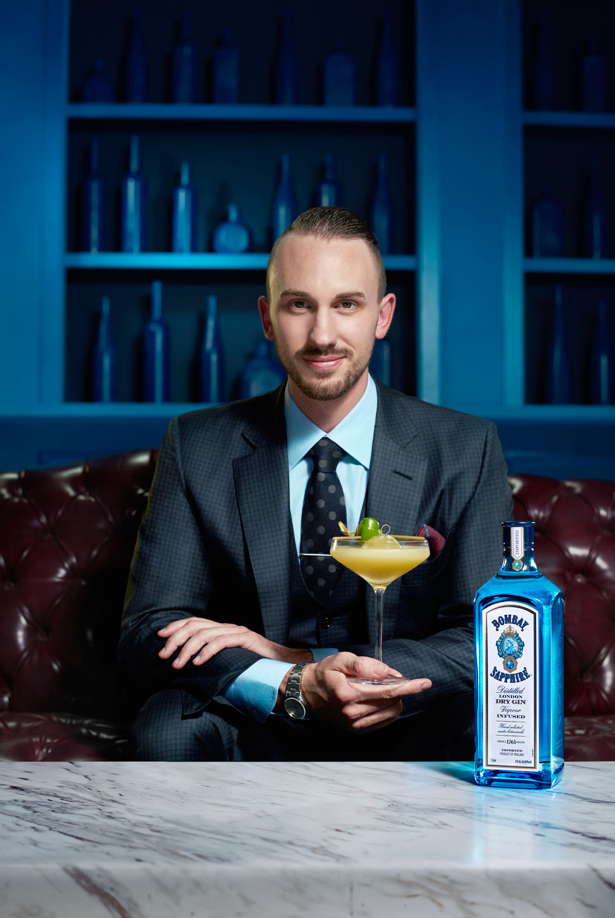 Bombay Sapphire ad produced by Smoke and Mirrors