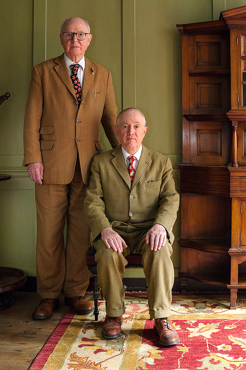 Gilbert and George by Heather McDonough (2015)