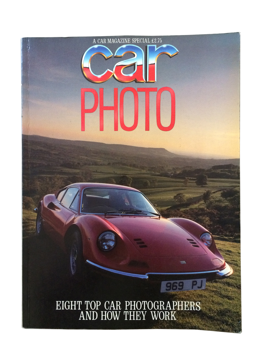 Car magazine's special Photo supplement from 1985