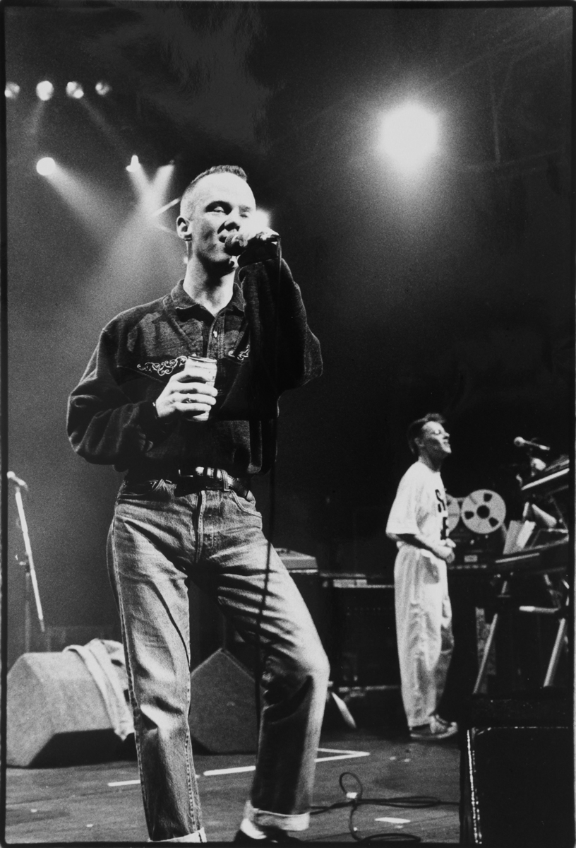 Jimmy Somerville with Bronski Beat by Steve Double (1980)