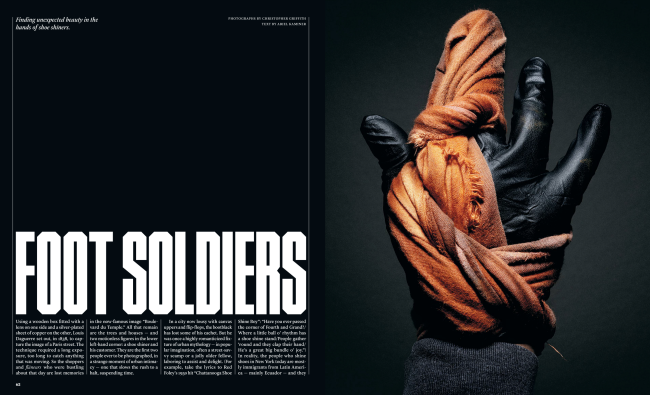 The New York Times Magazine's piece on Foot Soldiers