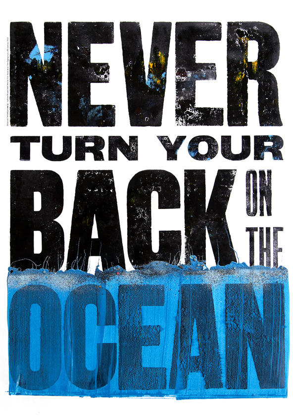 Never Turn Your Back on the Ocean poster