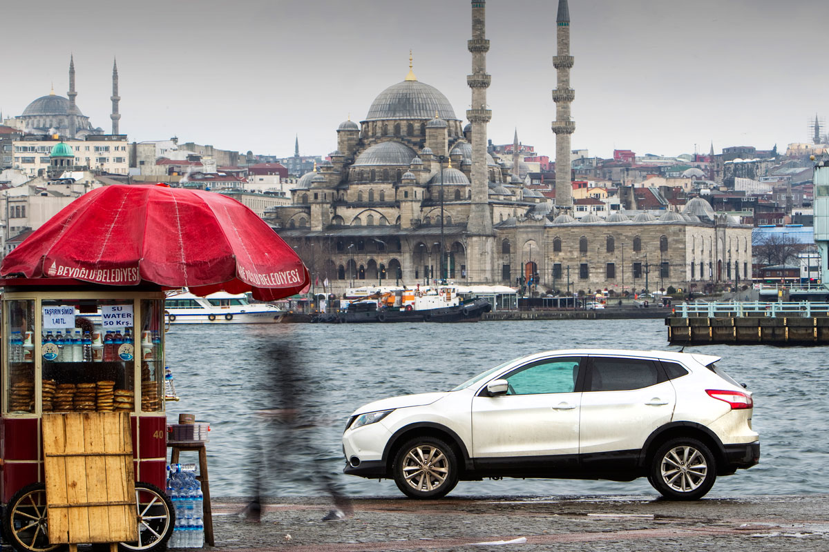 By Stan Papior from a 2014 Autocar road trip story which took a Nissan Qashqai from its birthplace in Sunderland all the wayto Istanbul.