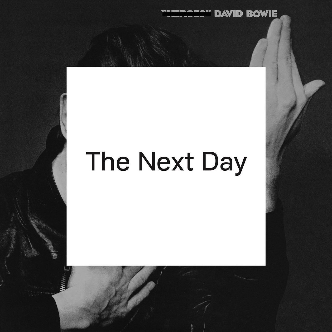 The Next Day album cover, 2013, designed by Barnbrook