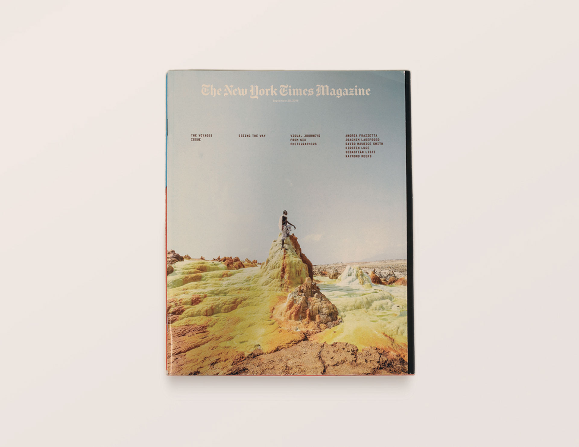 Another of Ryan's highlights from 2016 was the Magazine's 'Voyages' issue, the annual edition that sees a handful of leading photographers document a particular place.