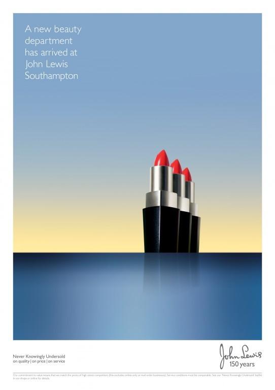 John Lewis Southampton campaign by adam&eveDDB