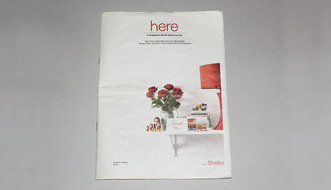 Shelter's Here magazine by Sm.o.ke Creatives
