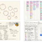 From Dear Data by Giorgia Lupi and Stefanie Posavec