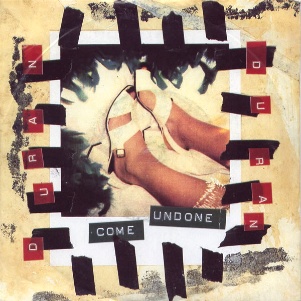 Duran Duran, Come Undone single cover. Designer: Nick Egan