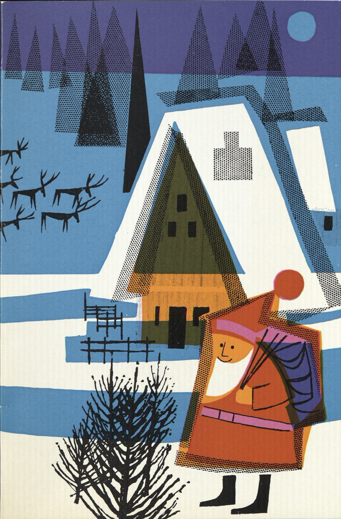 Letter from Santa card cover 1963. © Royal Mail Group Ltd, courtesy of The British Postal Museum & Archive