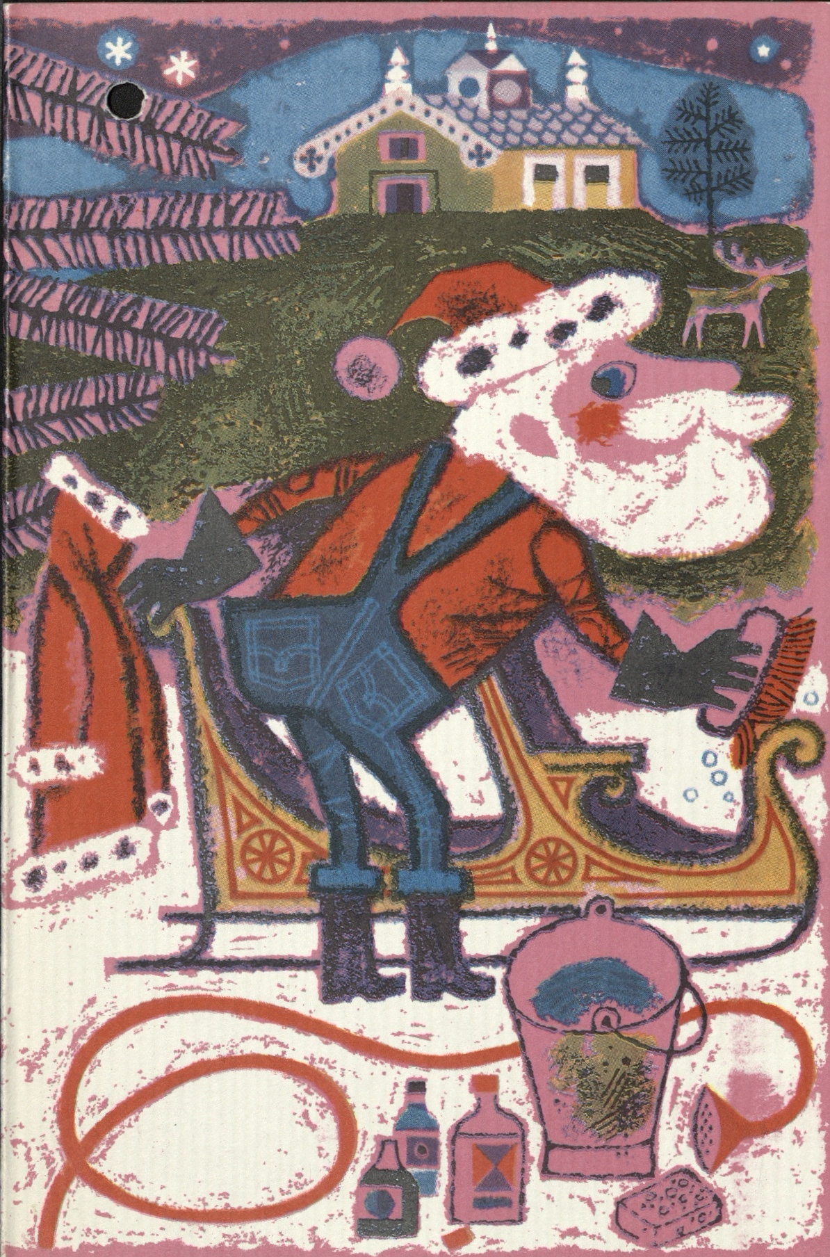 Letter to Santa card cover 1965. © Royal Mail Group Ltd, courtesy of The British Postal Museum & Archive