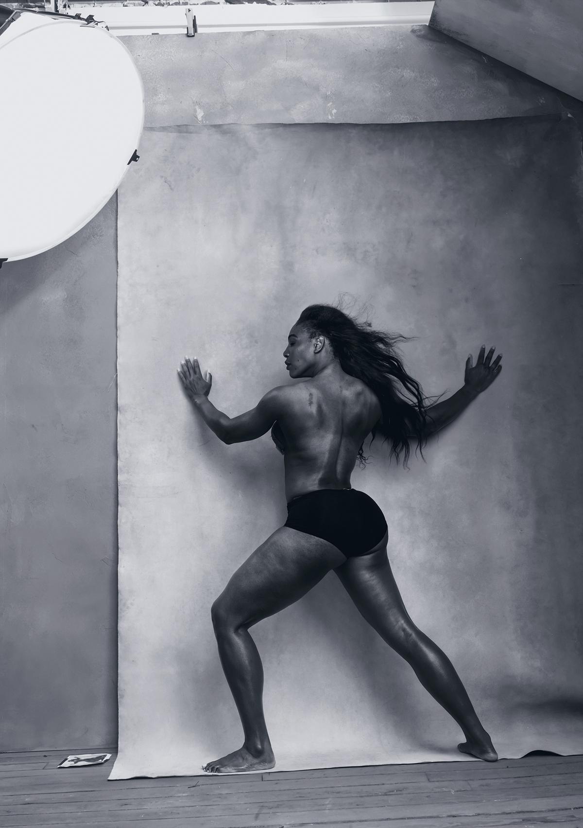 Top: Patti Smith; Above: Serena Williams
