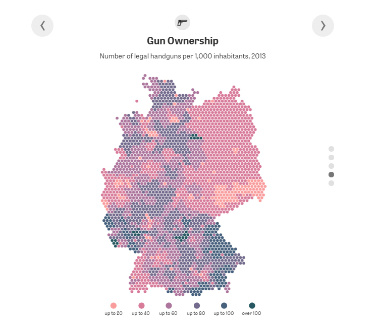German Unification by Zeit Online