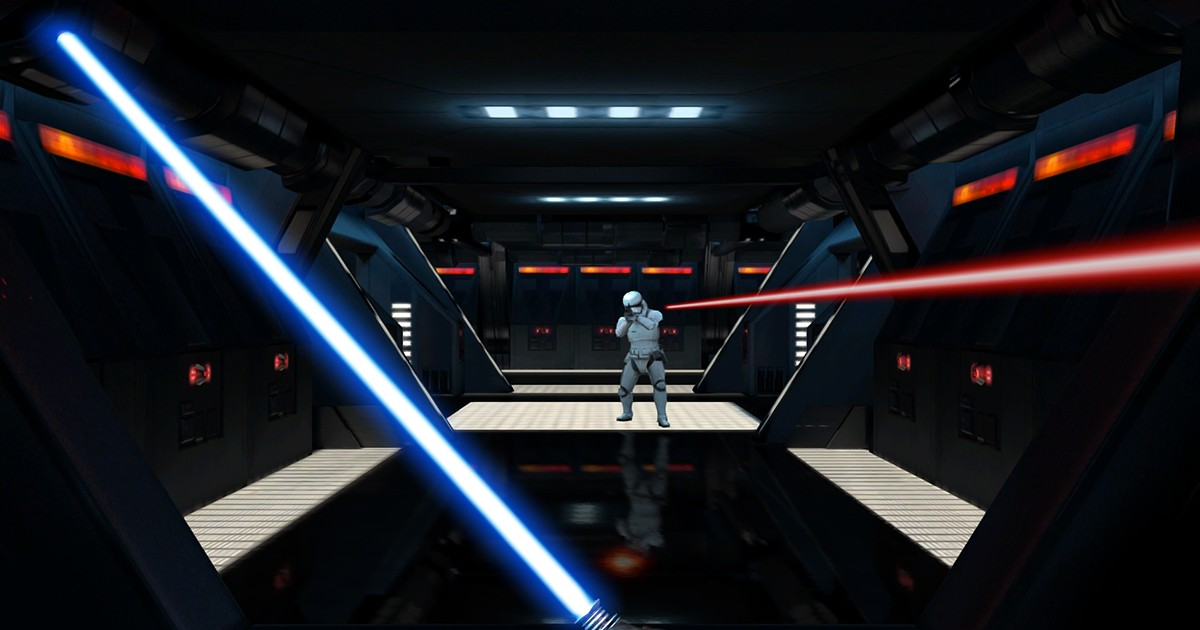Take part in your own lightsaber battle in new Google Chrome experience
