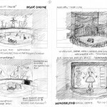 Storyboards for wonder.land