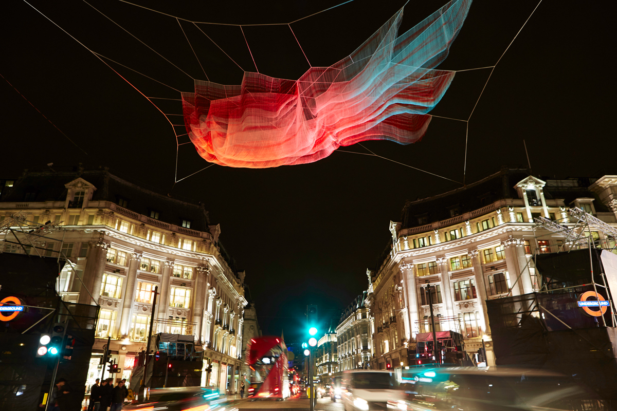 1.8 London by Janet Echelman (Photo: Matthew Andrews)