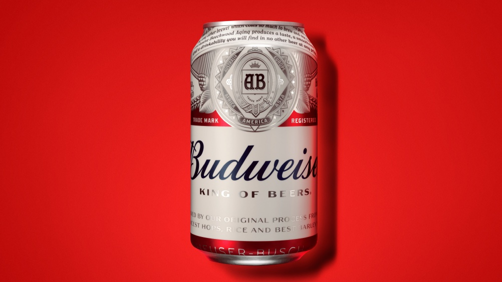 2016 Budweiser can by jkr New York