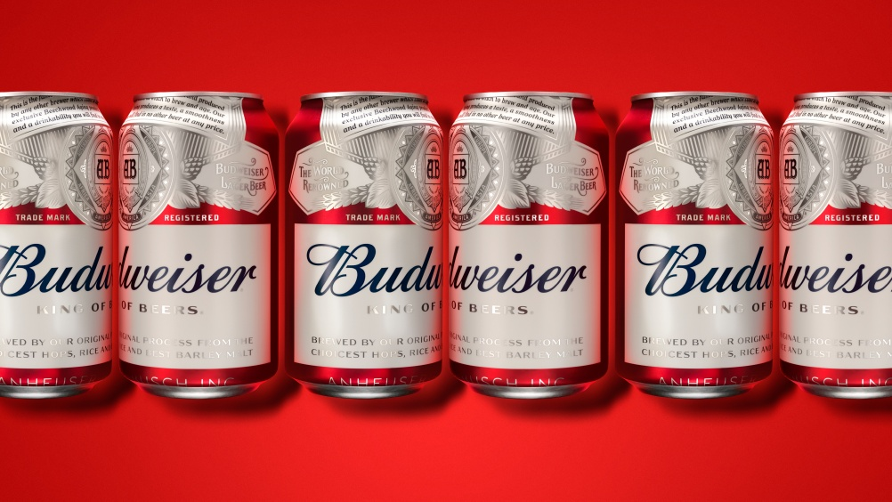 2016 Budweiser cans by jkr New York