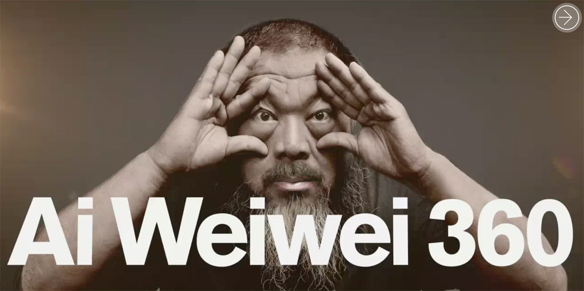 Missed Ai Weiwei at the RA? Now you can visit it online