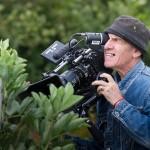 Tony Kaye on set. Photograph by Emily Whitfield-Wicks