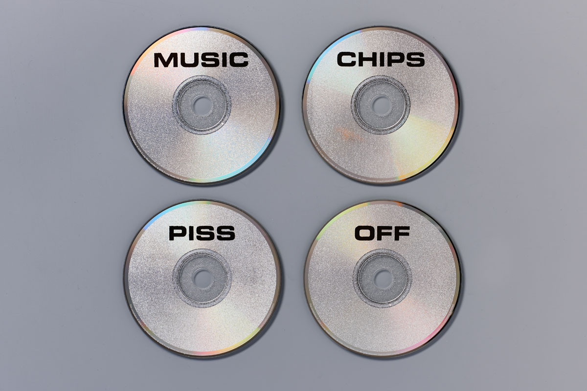 GLITTER CDS X4