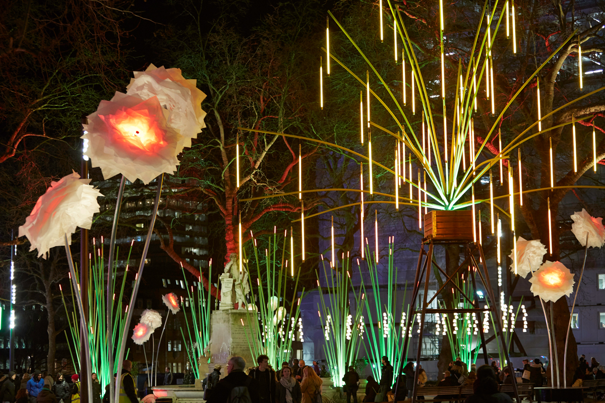 Garden of Light by TILT (Photo: Matthew Andrews)