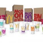 McDonald's new packaging range. Image courtesy McDonald's
