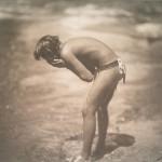 The morning bath, Apache, 1906 (Photographer: Edward S Curtis)