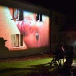 Tony Kaye shooting the Black Farmer TV ad. Agency: Big Eyes