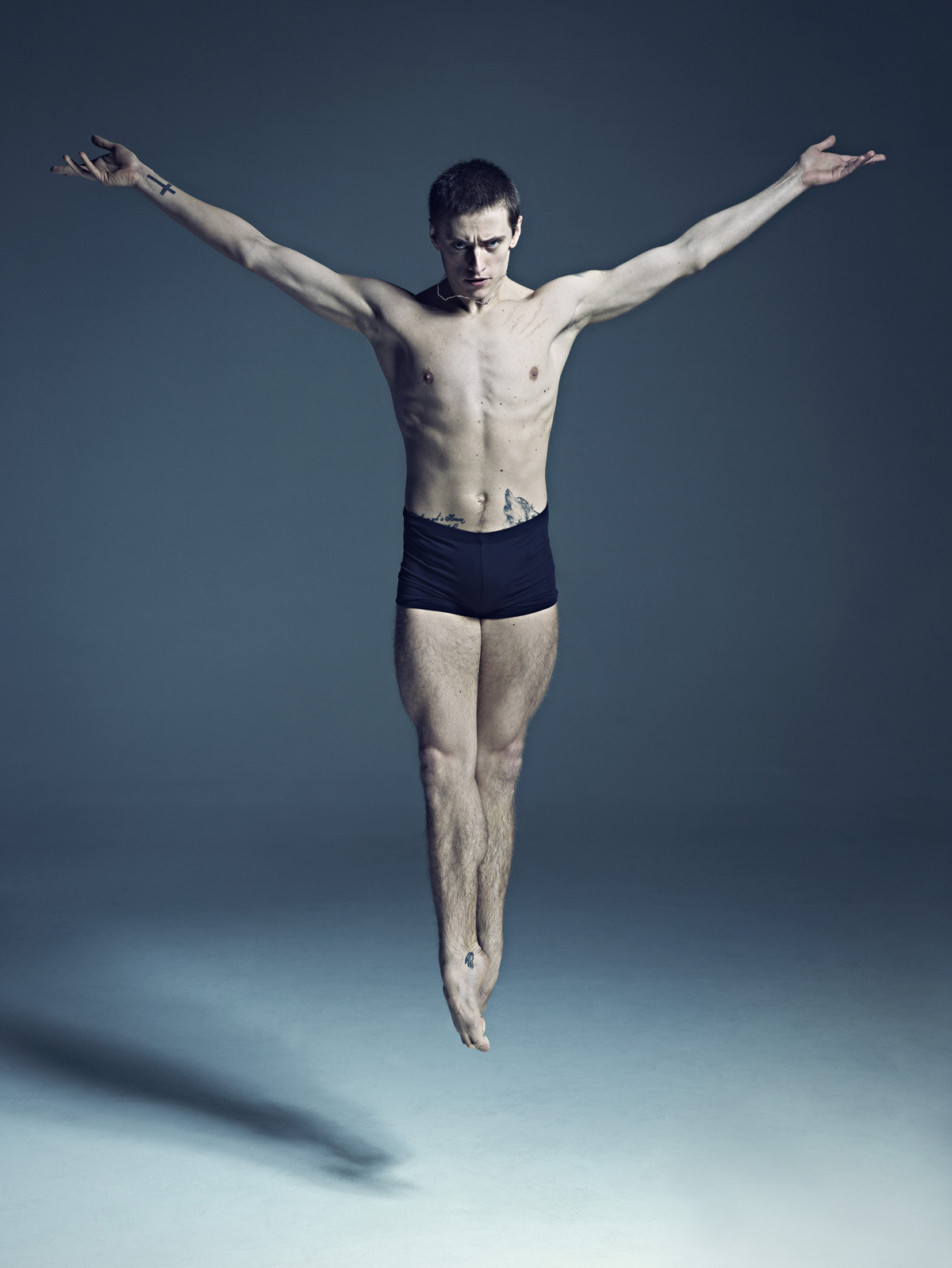 Sergei Polunin, principal at the Stanislavsky and Nemirovich-Danchenko Moscow Academic Music Theatre