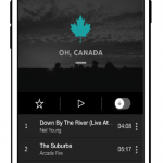 Canada-themed playlist on Tidal (headed up by Neil Young, naturally)