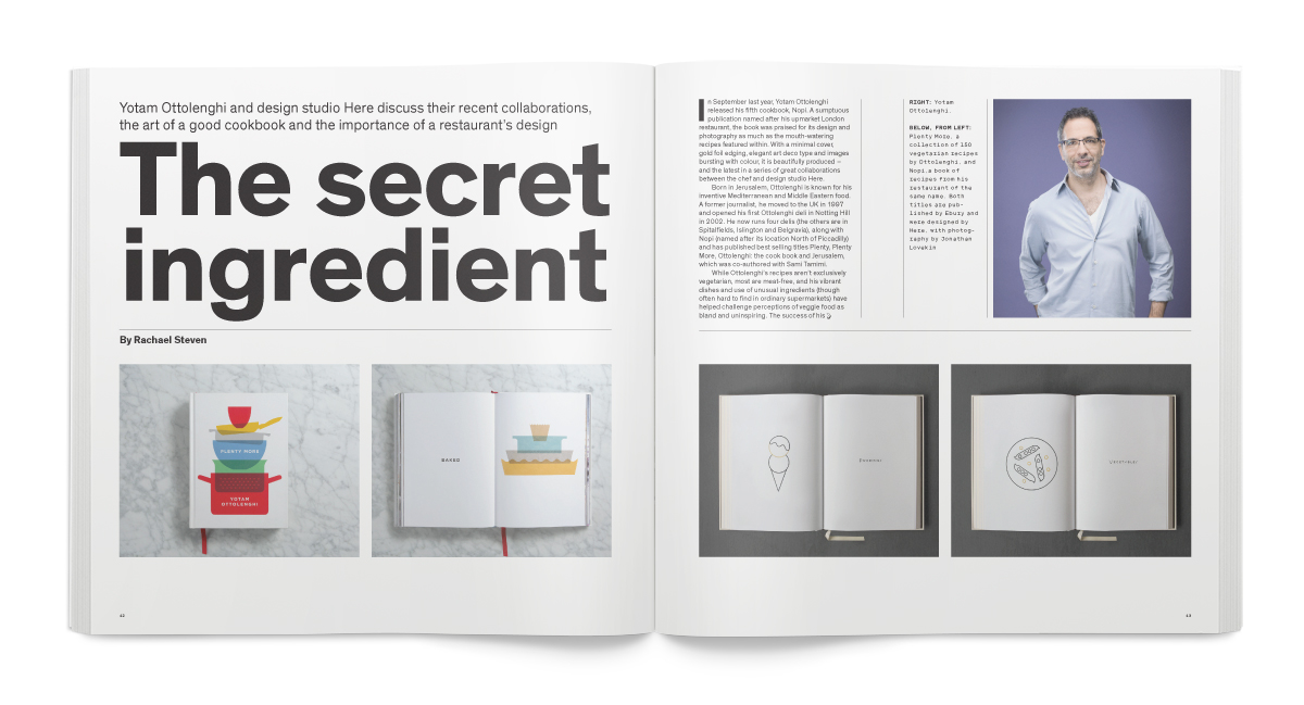CR Feb 16: Yotam Ottolenghi and Here Design