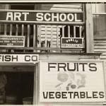 Fruit sign, Beaufort, South Carolina, 1936 (Photographer: Walker Evans)