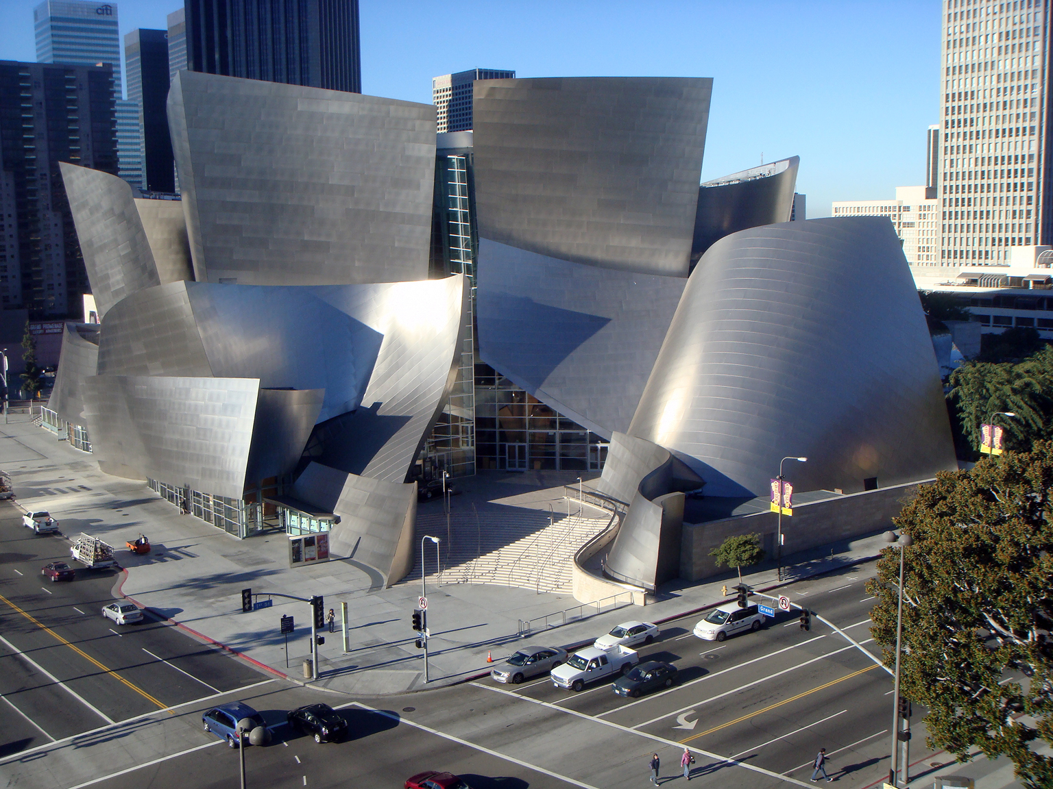 The Walt Disney Concert Hall, shot by Michael Smith