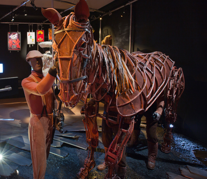 Joey puppet from War Horse, 2009 (Photo: V&A)