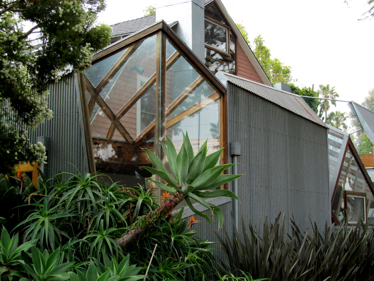 Gehry's house in Santa Monica, shot by Rob Corder