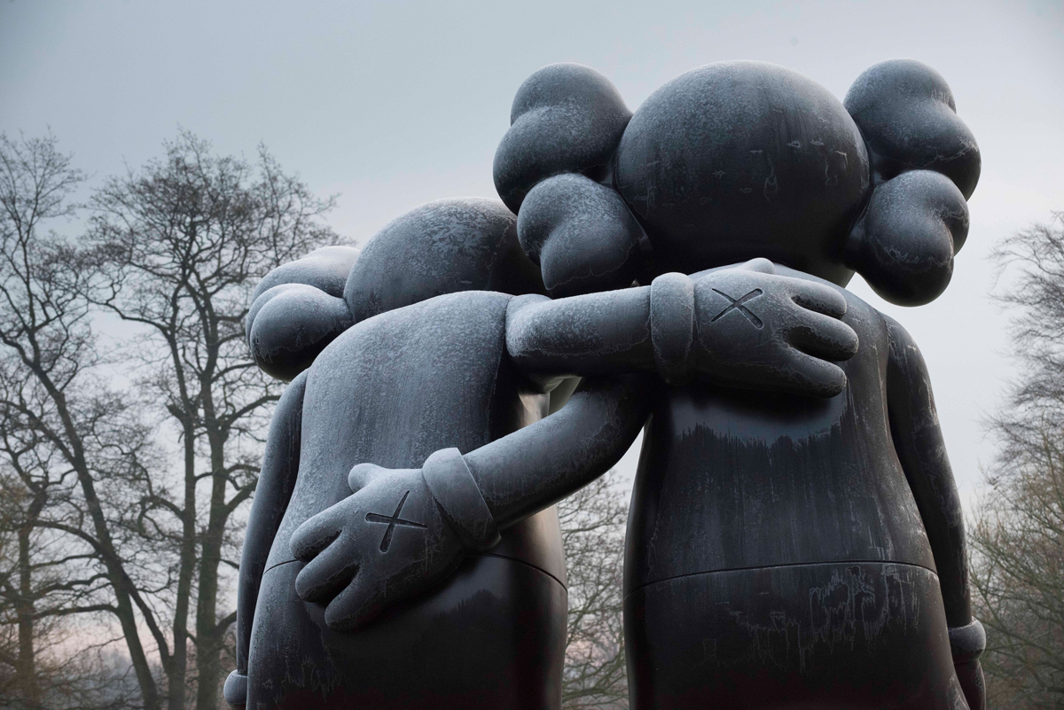 KAWS Brings Giant Cartoon Creations To Yorkshire Sculpture Park ...