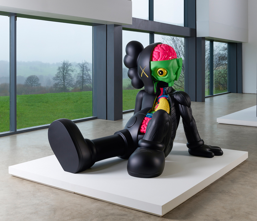 Companion (Resting Place), 2013, KAWS (Photo: Jonty Wilde)