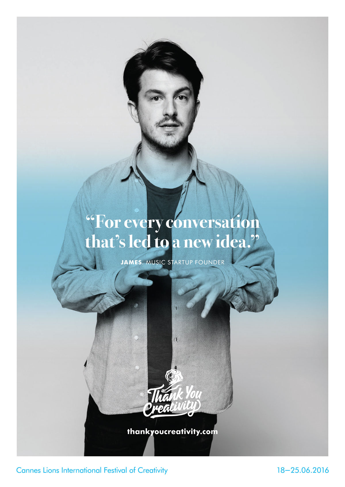 Cannes's Thank You Creativity ad campaign