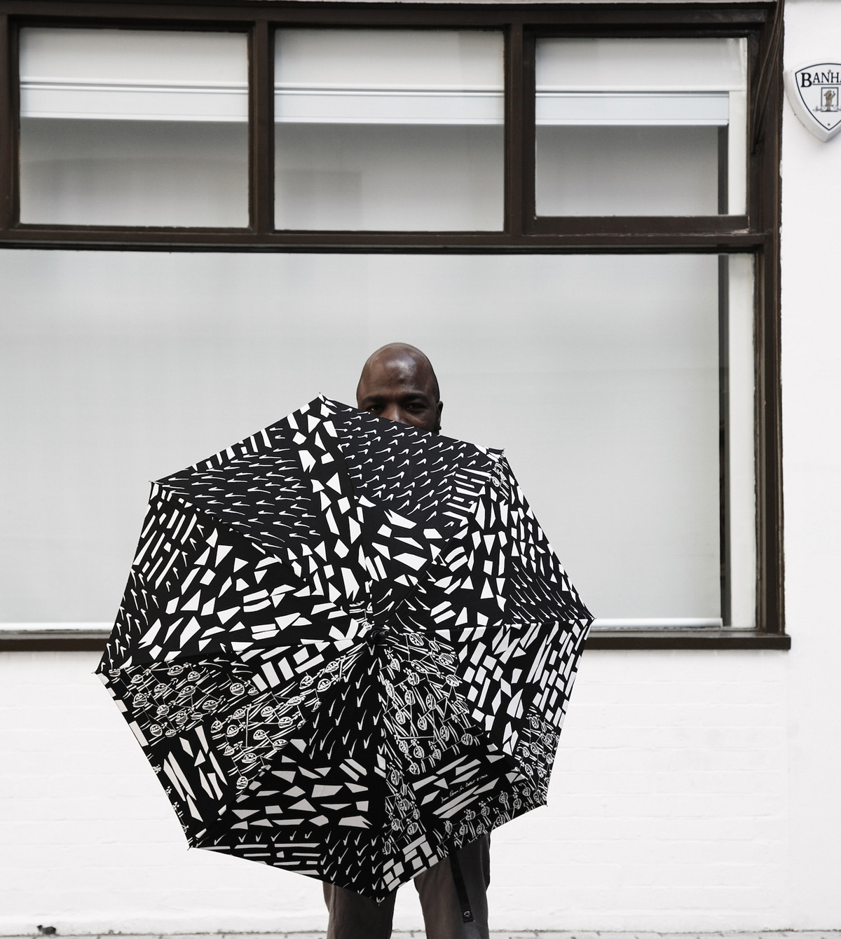 Duro Olowu, 'Black and white umbrella'. Edition of 1,000. Published by Outset. £65